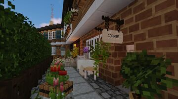 small back-alley street Minecraft Map & Project