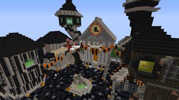 Nightmare Before Christmas Halloweentown Plot Minecraft Map & Project