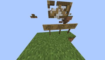 Air Survival Minecraft Map & Project