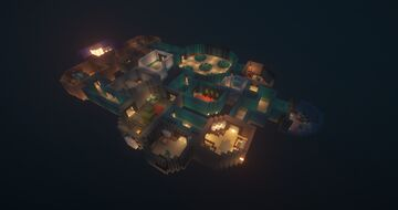 AMONG US: The Skeld Minecraft Map & Project
