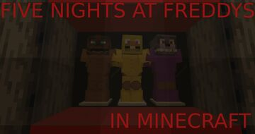 (1.16.1-1.16.4 WORLD) FIVE NIGHTS AT FREDDYS Minecraft Map & Project