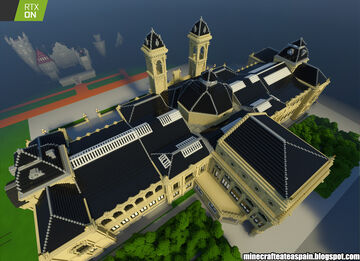 Minecrafteate in RTX, Nº23: Replica of the City of San Sebastian, Spain. Minecraft Map & Project