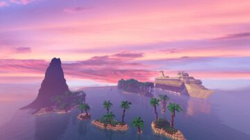 Cruise Ship In Hawaii Minecraft Map & Project