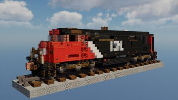 GE C40-8M (Canadian National #2442) Minecraft Map & Project