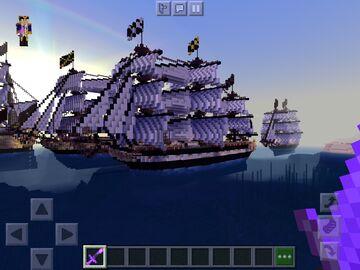36 gun frigate Minecraft Map & Project