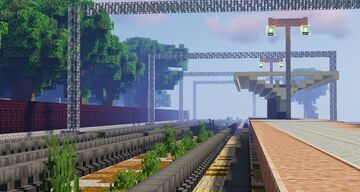 PKP Milanówek - Polish railway station Minecraft Map & Project