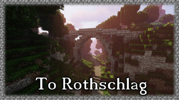 On the way to Rothschlag Minecraft Map & Project