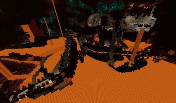 Hell Ship - Nether Spawn Minecraft Map & Project