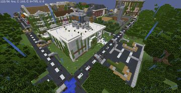 The Dead's Town Minecraft Map & Project