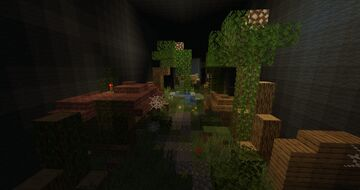 Nature Walk Through Lush Trees Minecraft Map & Project