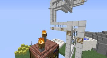 Very Painful Parkour Level Minecraft Map & Project