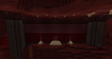 Nether Dwelling (Backstory in Description) Minecraft Map & Project