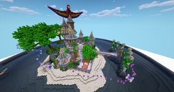 Hub / Spawn / Lobby for server Minecraft Map & Project