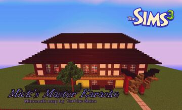 Mick's Master Karaoke -- Public place from Sims 3 Minecraft Map & Project