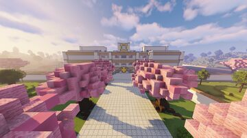 Yandere Simulator High School Java Edition(+ PE and Windows 10) Minecraft Map & Project