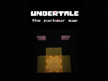 UNDERTALE - The friendly parkour map where nobody has to die. [DEMO] Minecraft Map & Project