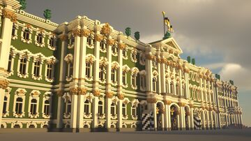 SAINT-PETERSBURG | Winter Palace Minecraft Map & Project