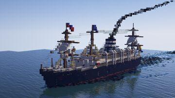 SS Stockholm (Custom Steam Ship) Minecraft Map & Project