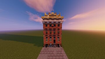 Rembrandt House Amsterdam (1:1) Minecraft Map & Project