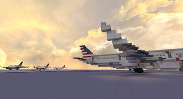 Enalica International Airport (Terminal 1) Minecraft Map & Project