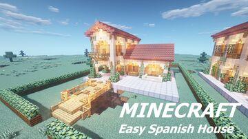 Spanish Villa Minecraft Map & Project