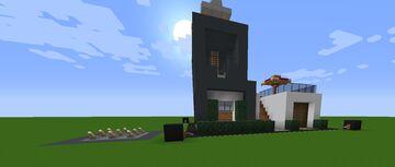 Safe, Secure, Modern House - MinoGILD_A Minecraft Map & Project