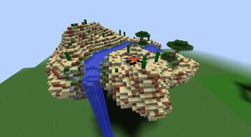 Desert Island Minecraft Map & Project