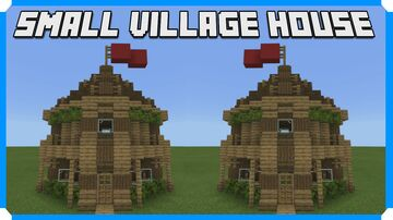 How To Build A Small Village - House Minecraft Map & Project
