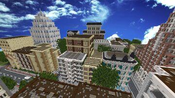 Minecraft City World Minecraft Map & Project