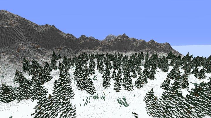 Vaegir Mountain ranges