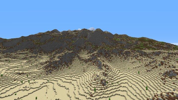 Sarranid mountain ranges