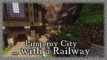 Transportation Railway Minecraft Map & Project