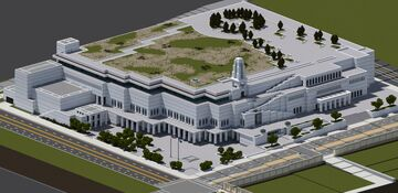 Conference Center | Salt Lake City Minecraft Map & Project