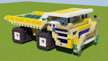 BelAZ 75710 Minecraft Map & Project