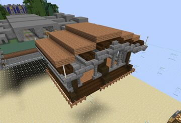Medieval Lodging/House Minecraft Map & Project
