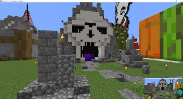 Nether Hub entrance Minecraft Map & Project