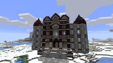 Medium Size Castle Minecraft Map & Project