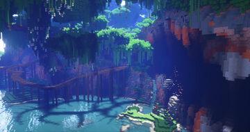 Ruins of Valdivian - Amaron Jungle Island Minecraft Map & Project