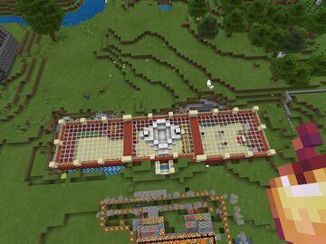 Mini-version of MumboJumbo's base on Hermitcraft S5 Minecraft Map & Project