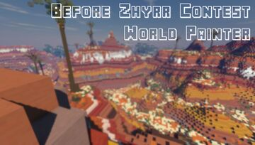 Before Zhyrr Contest - World Painter [2048x2048] Minecraft Map & Project