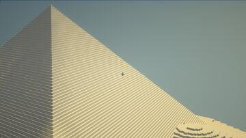 Desert dunes and pyramids Minecraft Map & Project
