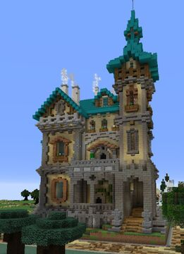 A neo-classic house Minecraft Map & Project