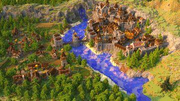 Kingdoms of Argus Server Spawn   Aderlyon Build Team Minecraft Map & Project