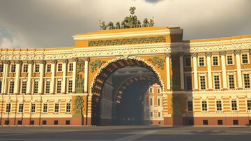 SAINT-PETERSBURG | The General Staff Building Minecraft Map & Project