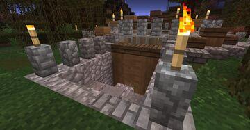 Underground House Minecraft Map & Project