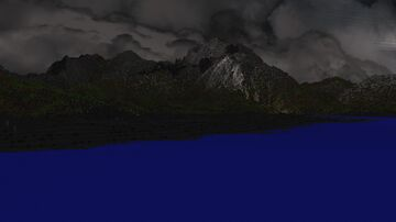 Iceland Island North - Terraforming 2170x2170 Minecraft Map & Project