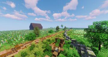 Railway Diorama Minecraft Map & Project