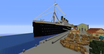 SS Bellefeuille (Fictional) Minecraft Map & Project