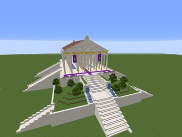 Greek Style Temple Minecraft Map & Project