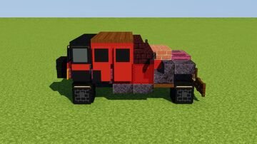 Jeep Wrangler Unlimited Minecraft Map & Project